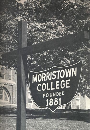 Morristown_College_signage
